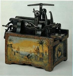 Tabaksvulmachine 1762, Historisch Museum Haarlem